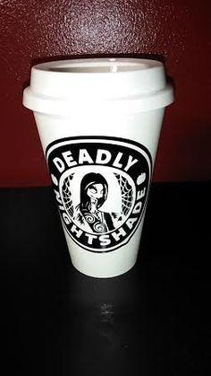 FREE SHIPPING in US- Nightshade Coffee Mug - Thermal Plastic Reusable Travel Mug - Nightmare Before Christmas - Jack Skellington Coffee by UntamedCustomGifts on Etsy https://www.etsy.com/listing/243423642/free-shipping-in-us-nightshade-coffee