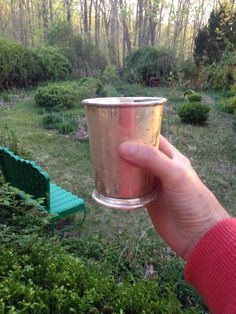 The Right Cup - foodista.com why do you need a copper core-Sterling Silver cup for a Mint Julep?  Read on to see.