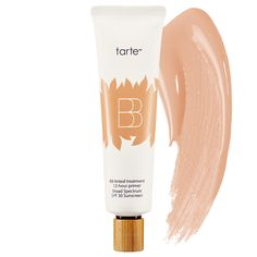 "BB Tinted Treatment by Tarte. Your mom's new favorite ""wear this and nothing else"" product."