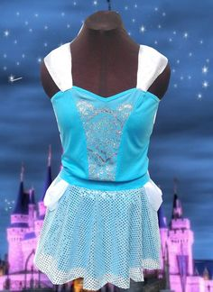 NEW Cinderella inspired complete running outfit by iGlowRunning, $98.00