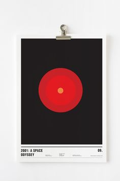 Using Only Circles, Famous Films are Cleverly Turned into Minimalist Posters - My Modern Met