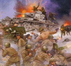 Operación Taifun, Frente del Este, principios del invierno de 1941. La Whermacht alemana intenta un último asalto para tomar Moscú, mientras el ejercito Rojo se defiende desesperadamente. Más en www.elgrancapitan.org/foro/