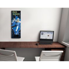 IRON MADEN 53x158 cm #artprints #interior #design #art #print #iloveart #music  Scopri Descrizione e Prezzo http://www.artopweb.com/EC18702