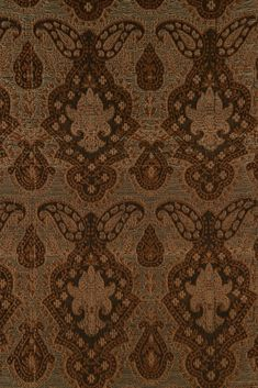 The high-end Golden Brown Silk Brocade 520 Fabric is machine-woven with silk threads in intricate designs and patterns. Buy silk at NY Designer Fabrics. Silk Brocade, Home Decor Fabric, Silk Thread, Golden Brown, Silk Fabric, Fabric Design, Pattern, Fabrics, Silk