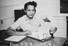 Captain Della H. Raney, the first black nurse to report to duty in the World War Two. | 10 Lesser-Known People Who Were The First To Accomplish Things - BuzzFeed News
