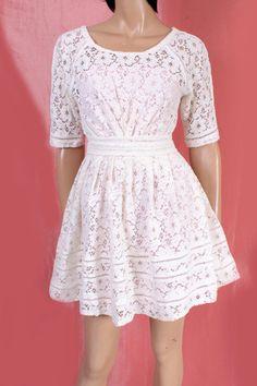 Plus Size /cotton lace /bridesmaid/ by UpToDateFashion on Etsy, $75.99