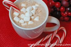 Nutella Hot Chocolate - Or so she says...