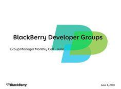 Leaked Blackberry Slides