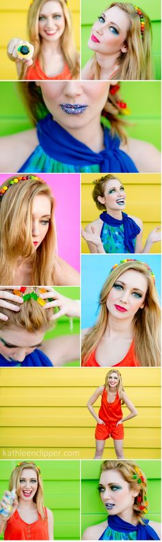 Colorful Candy Shoot by Kathleen Clipper Photography