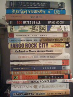 All fantastic books! Great reads. I don't know about the Hank Moody one. Haha.