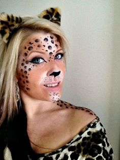 Halloween Leopard https://www.makeupbee.com/look_Halloween-Leopard_9864