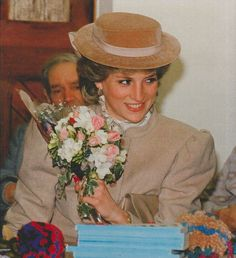 11 March 1986 Princess Diana opens St Mary's day centre for the elderly in…