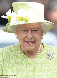 hrhduchesskate:  Queen Elizabeth on her 90th birthday, Windsor, April 21, 2016