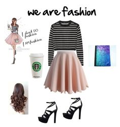 """we are fashion ♥♥♥"" by kimberlyrosso11 ❤ liked on Polyvore featuring TIBI, Chicwish and GUESS"