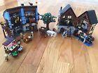 LEGO Castle Medieval Market Village (10193). With Instructions.