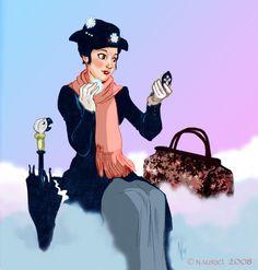 Mary Poppins by ladynauriel