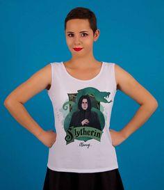Regata Severus Snape - Harry Potter - Compre na Toda Frida ♥