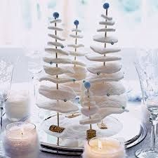 simple christmas table decorations - Google Search