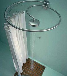 Um banheiro para pequenos espaços
