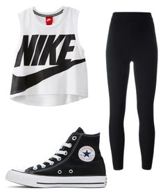 """""""Untitled #88"""" by taukaila on Polyvore featuring NIKE, Yeezy by Kanye West and Converse"""