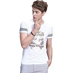 Minibee Men's Fashion T Shirts Skull Print Top Cotton Shirts White-M Minibee http://www.amazon.com/dp/B00YO7L85G/ref=cm_sw_r_pi_dp_TYqBvb1TSFH0V