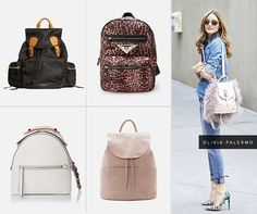 Nova tendência: mochilas
