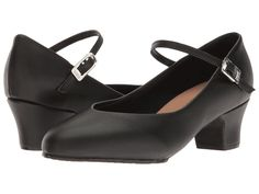 1900-1910s Clothing Bloch - Broadway Lo Black Womens Dance Shoes $37.00 AT vintagedancer.com