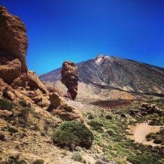 Parque Nacional del Teide en Orotava, Canarias