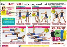 10 min morning workout