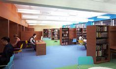 Brooklyn Library. ::   Artist & Modeler: Cleo.    Architecture & Interior Design: Murdock Solon Achitects.