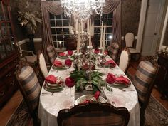 A Perfect Setting: Christmas decorating