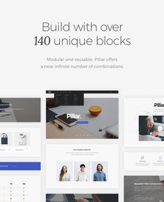 Pillar Multipurpose HTML with Page Builder • Download theme ➝…