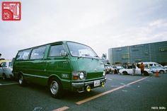 005-R3a-776a_Toyota Hiace H20 Toyota Hiace, Old Cars, Camper, Heaven, Life, Car Stuff, Caravan, Sky, Travel Trailers