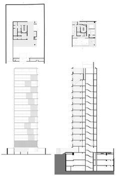 Vertical Itaim pelo estúdio mk27    blocos de apartamentos