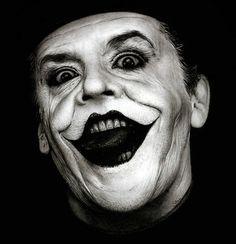 """Jack Nicholson como El Joker en""""Batman"""", 1989"""