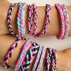 Braided Friendship Bracelets {Bracelets}