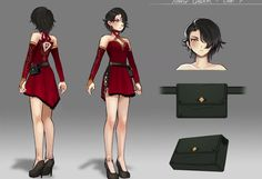 "Concept art of Cinder Fall for the episode ""The Beginning of the Fall"" from RWBY Rwby Fanart, Rwby Anime, Character Sketches, Character Concept, Concept Art, Character Design, Hinata, Rwby Cinder, Rwby Characters"