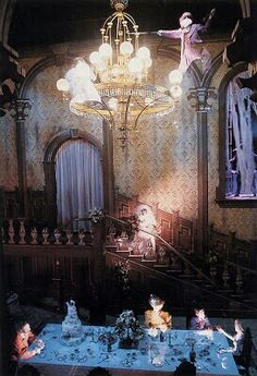 Haunted Mansion.  Best haunted house anywhere!!!