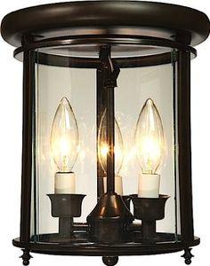 Amazon.com: Artcraft Lighting AC4320BZ Manor 3-Lite Flush Mount Urn Light, Rich Bronze: Lamps & Light Fixtures $195