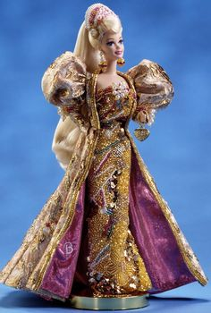 Gold Jubilee Anniversary Barbie Doll - Tiny Frock Shop