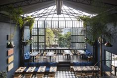 Restaurant Visit: A Magical Night Sky at Romita in Mexico City