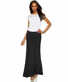 INC International Concepts Pull-On Maxi Skirt