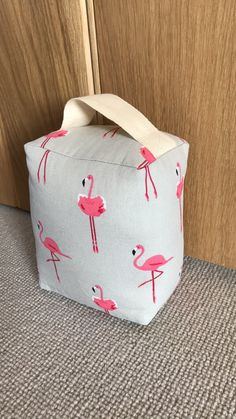 Flamingo doorstop from Amy Joanne Interiors Lanes End, Doorstop, Made To Measure Curtains, Marlow, Curtains With Blinds, Soft Furnishings, Linen Fabric, Flamingo, Home Accessories
