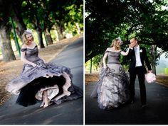 I'd wear this wedding dress RIGHT NOW! dress shop, wedding dressses