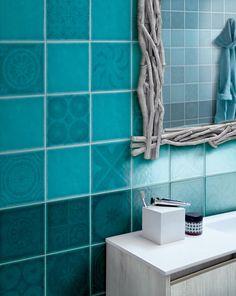 Ceramic wall tiles Sardinia Collection by Cerasarda Italian Marble Flooring, Floor Restoration, Pantone 2020, Bleu Turquoise, Teal, Blue Furniture, Ceramic Wall Tiles, Blue Tiles, Wall And Floor Tiles