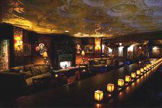 Foundation Room, House of Blues. Home to the Bourbon, Bombshells & Burlesque show.   #Vegas #Burlesque