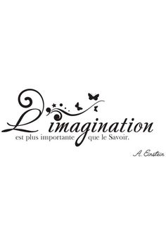 L imagination et plus important que le savoir Girly Quotes, Some Quotes, Romantic Quotes, French Words, French Quotes, Thinking Quotes, Some Words, Positive Attitude, Albert Einstein