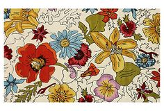 like a painting for your floor...modern nomad rumo rug via OneKingsLane.com