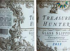 Treasure Hunter Wine on Behance