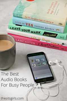 List of the best audio books for busy people. You can get a lot accomplished and read a good book at the same time.